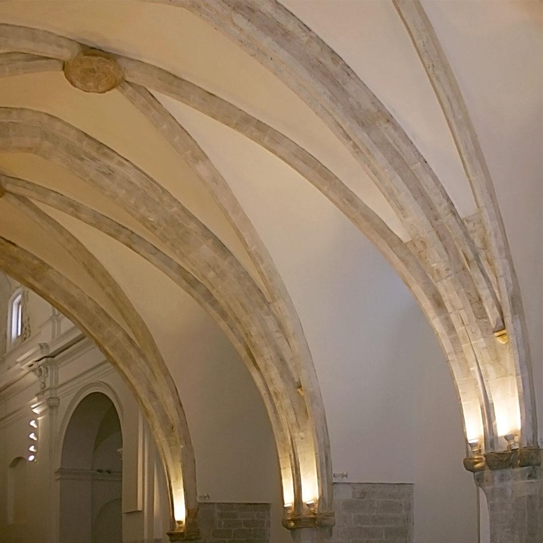 Nave | Adecuación de la Iglesia Nuestra Señora del Socorro de Peñíscola (Castellón)