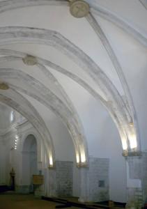 Capilla lateral, estado intervenido | Adecuación de la Iglesia Nuestra Señora del Socorro de Peñíscola (Castellón)
