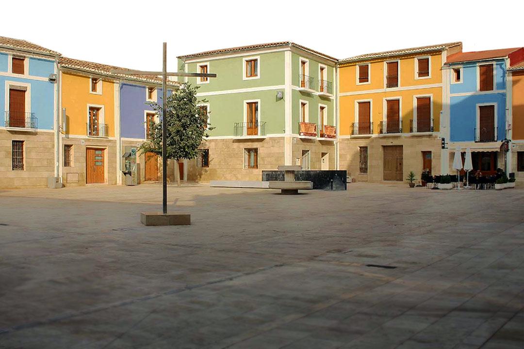 Restauración del entorno urbano del Santuario de la Santa Faz