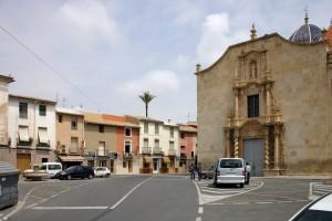 Estado previo 1 | Restauración del entorno urbano del Santuario de la Santa Faz