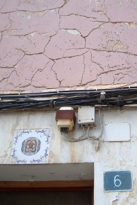 Patologías 2 | Restauración del entorno urbano del Santuario de la Santa Faz