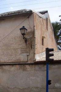 Patologías 3 | Restauración del entorno urbano del Santuario de la Santa Faz