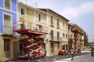 Revestimientos y pinturas | Restauración del entorno urbano del Santuario de la Santa Faz