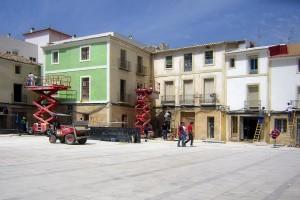 Acabados | Restauración del entorno urbano del Santuario de la Santa Faz
