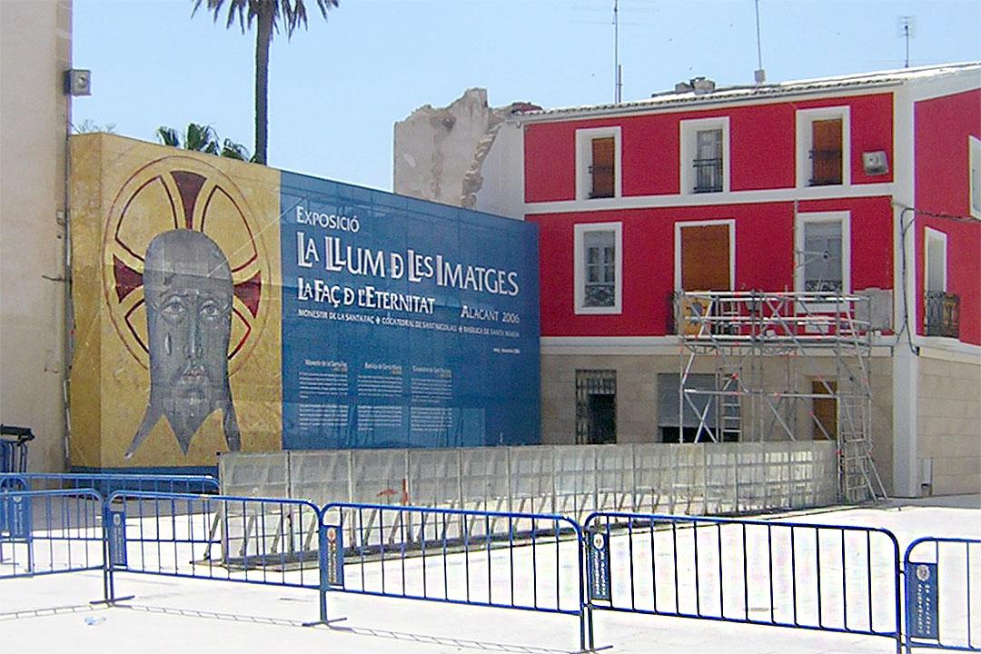 Provisional | Restauración del entorno urbano del Santuario de la Santa Faz