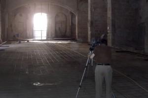 Ejecución pavimentos interiores 1 | Restauración litúrgica de la Iglesia de Sant Francesc de Xátiva (Valencia)