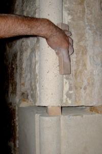 Reparación contrafuertes 3 | Restauración litúrgica de la Iglesia de Sant Francesc de Xátiva (Valencia)