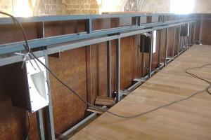 Rehabilitación coro 5 | Restauración litúrgica de la Iglesia de Sant Francesc de Xátiva (Valencia)