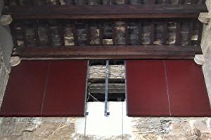 Muros sobre arcos laterales 2 | Restauración litúrgica de la Iglesia de Sant Francesc de Xátiva (Valencia)