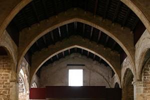 Muros sobre arcos laterales 3 | Restauración litúrgica de la Iglesia de Sant Francesc de Xátiva (Valencia)