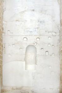 Lechada sobre tapial | Restauración litúrgica de la Iglesia de Sant Francesc de Xátiva (Valencia)