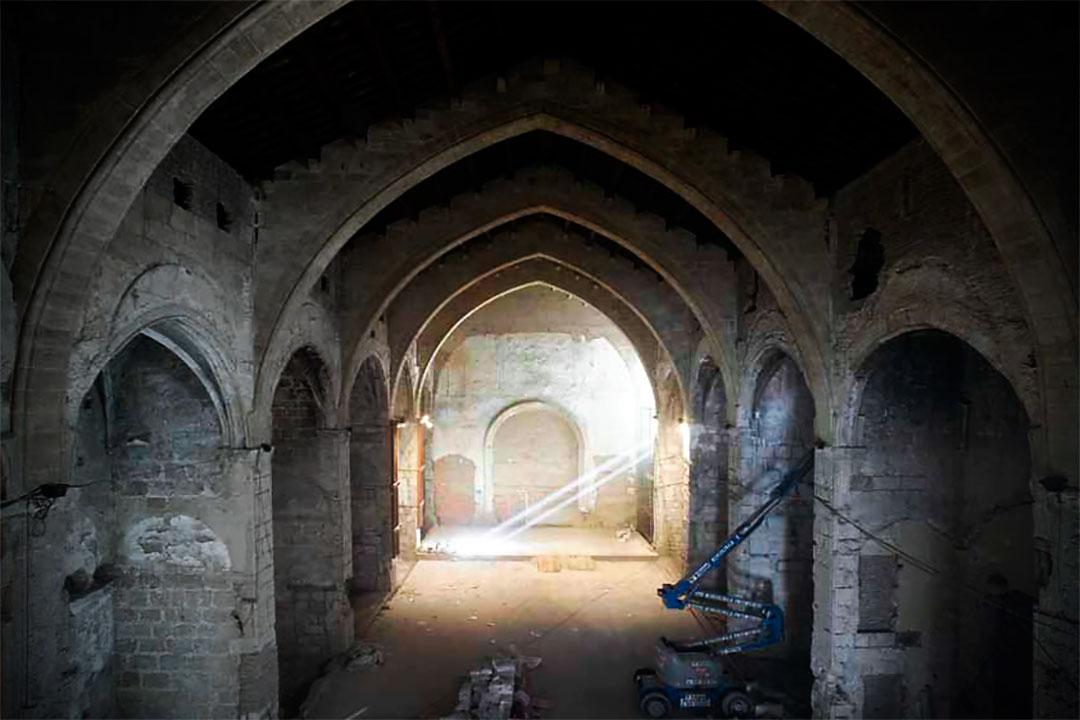 Estado previo iglesia | Restauración litúrgica de la Iglesia de Sant Francesc de Xàtiva (Valencia)