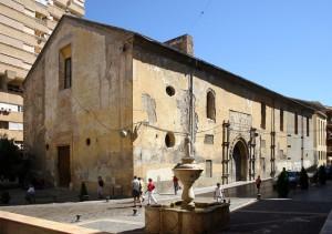 Exterior estado previo | Restauración litúrgica de la Iglesia de Sant Francesc de Xátiva (Valencia)