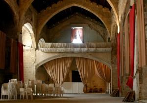 Nave hacia coro estado previo | Restauración litúrgica de la Iglesia de Sant Francesc de Xátiva (Valencia)