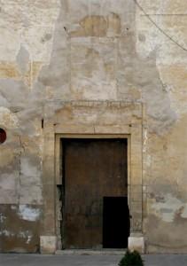Portada pies estado previo | Restauración litúrgica de la Iglesia de Sant Francesc de Xátiva (Valencia)