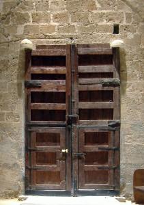 Portada lateral, interior | Restauración litúrgica de la Iglesia de Sant Francesc de Xátiva (Valencia)