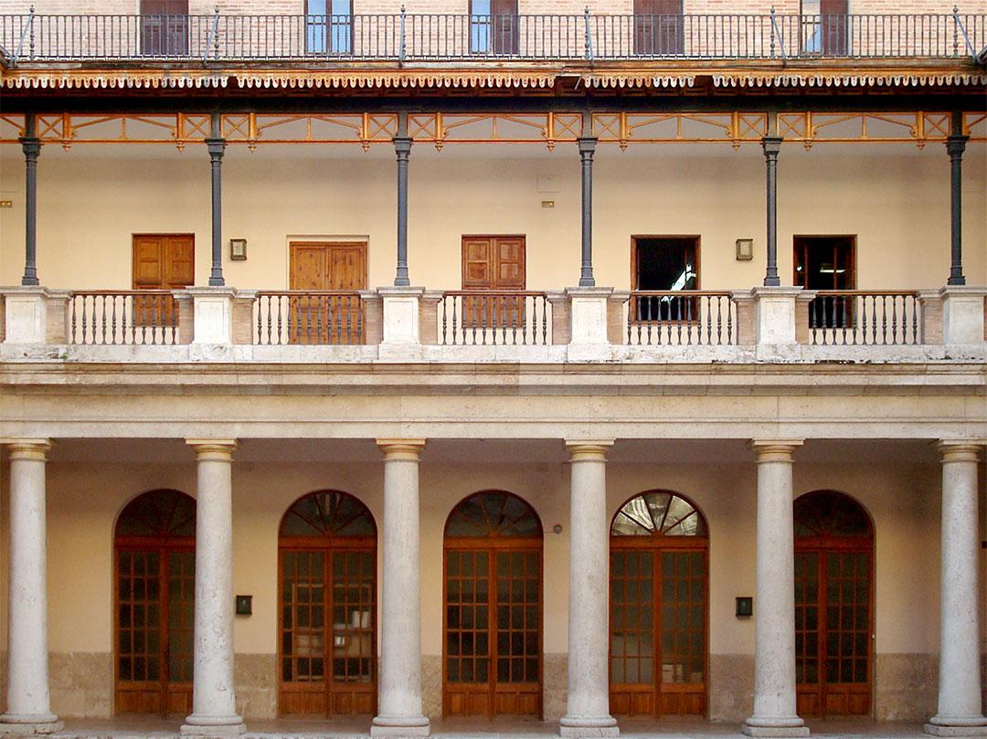 Claustro | Rehabilitación de la Facultad de Teología San Vicente Ferrer, Valencia
