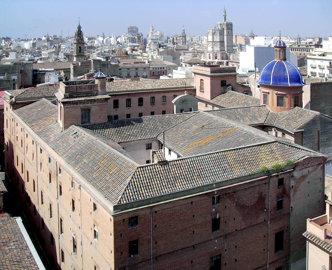 Cubiertas| Rehabilitación de la Facultad de Teología San Vicente Ferrer, Valencia