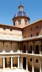 Claustro y torre | Rehabilitación de la Facultad de Teología San Vicente Ferrer, Valencia