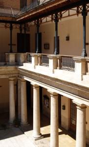 Detalle claustro | Rehabilitación de la Facultad de Teología San Vicente Ferrer, Valencia