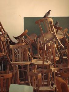 Escolanía antiguo mobiliario | Rehabilitación de la Facultad de Teología San Vicente Ferrer, Valencia