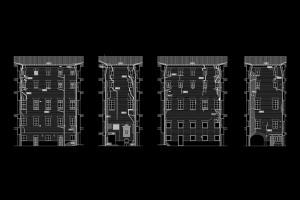 Patologías patio noreste | Rehabilitación de la Facultad de Teología San Vicente Ferrer, Valencia