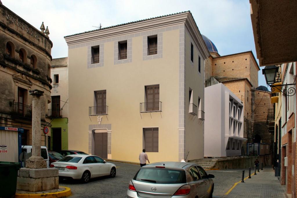 Estado reformado, proyecto | Rehabilitación del Centro Olivense, Casa de la Cultura de Oliva