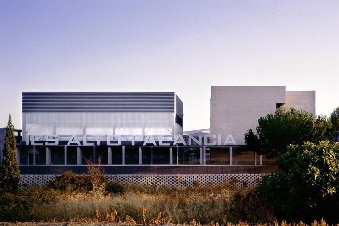 Fachada principal | Instituto de Educación Secundaria Alto Palancia, Segorbe