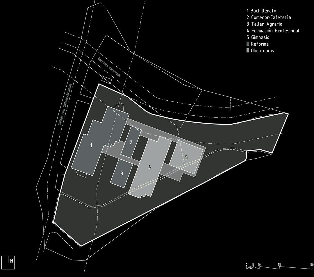 Parcela | Instituto de Educación Secundaria Alto Palancia, Segorbe