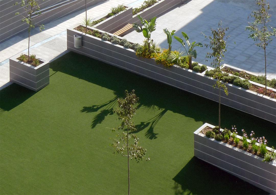 Plaza pública | Fase 1 Complejo Sociocultural de Sedaví