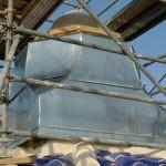 Reconstrucción remate cúpula central