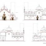 Proyecto de Rehabilitación Iglesia San Bartolomé de Benicarló, alzados