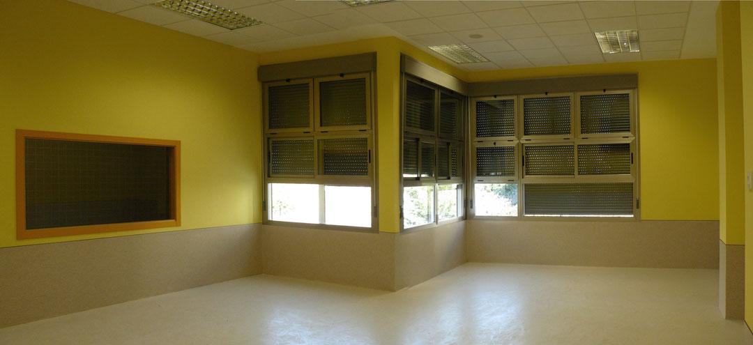 Aula de educación infatil, Colegio El Plar, Valencia