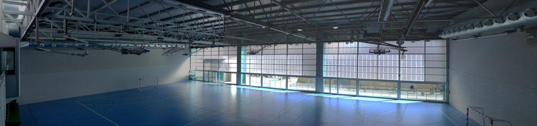 Pabellón polideportivo, Colegio El Plar, Valencia