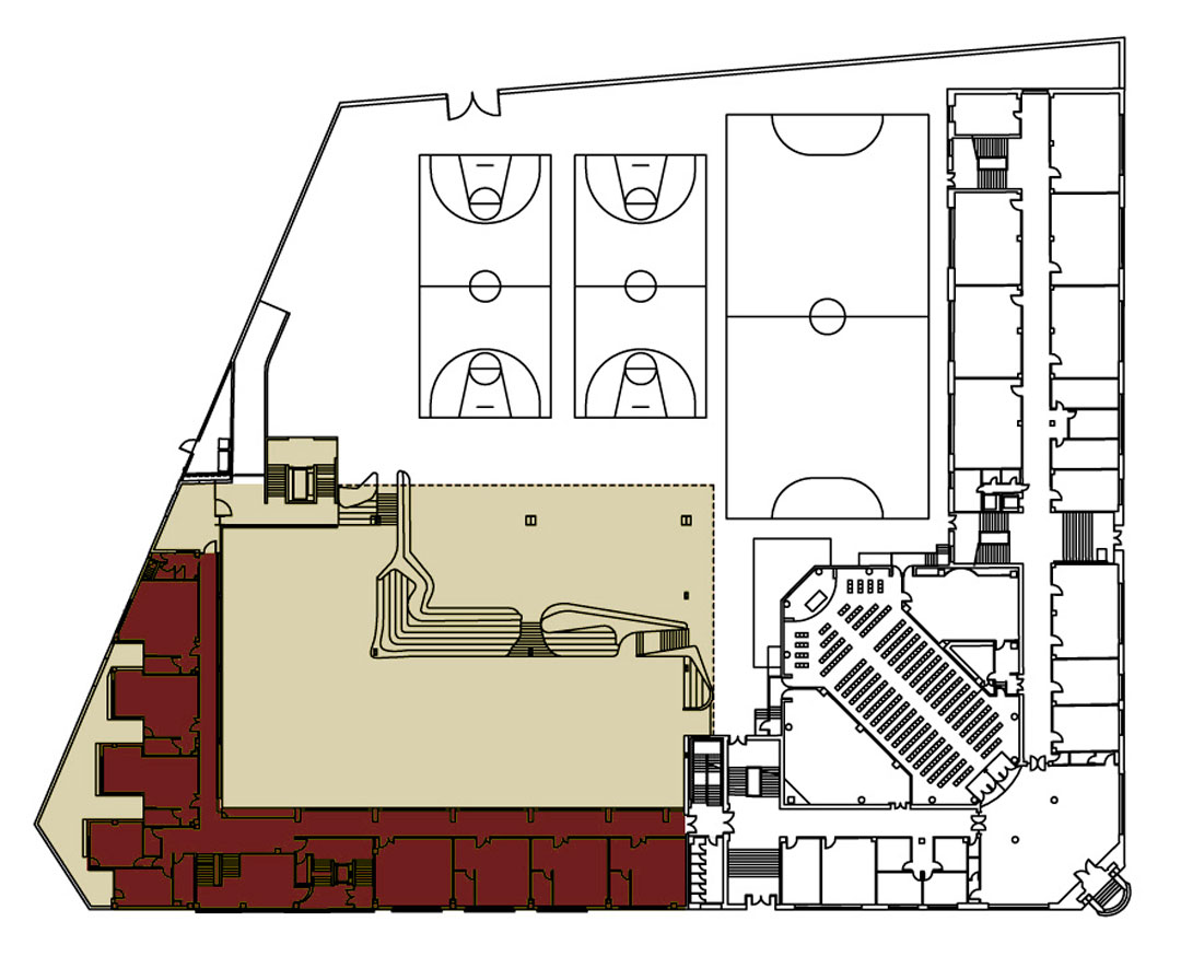 Ampliaci n colegio el pilar valencia ark tera slp for Plantas de colegios arquitectura