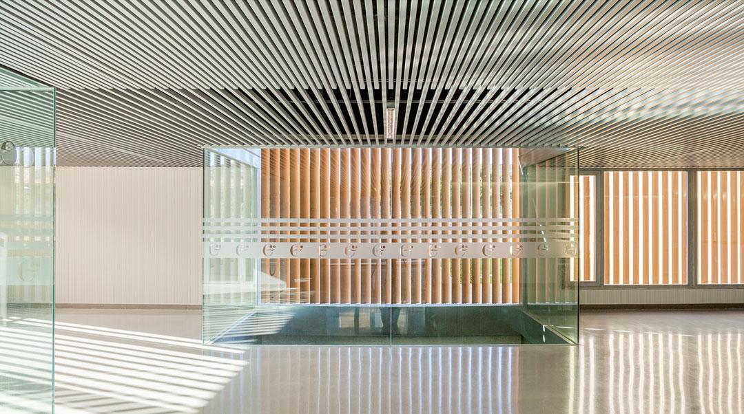 Vestíbulo principal | Centre d'Idiomes de la UV
