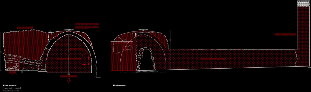 Restauración Pozo de Nieve | Mejora urbanística sector histórico Arco Nevero Pozo de Nieve Yátova