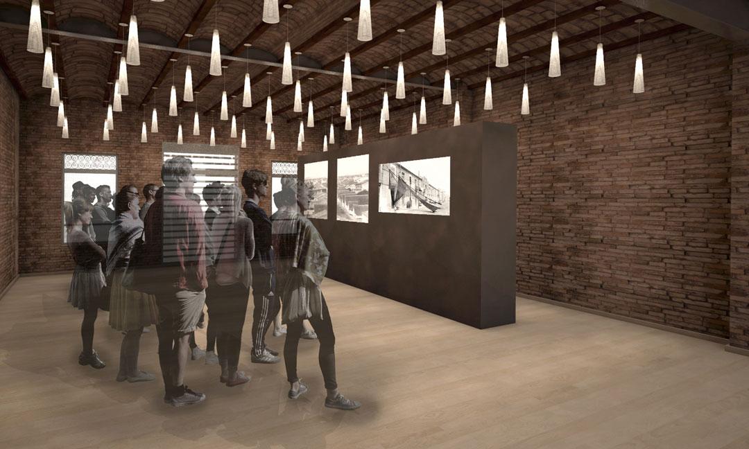 Infografía interior rehabilitación | Equipamiento Sociocultural Calle Reina 121 de Valencia