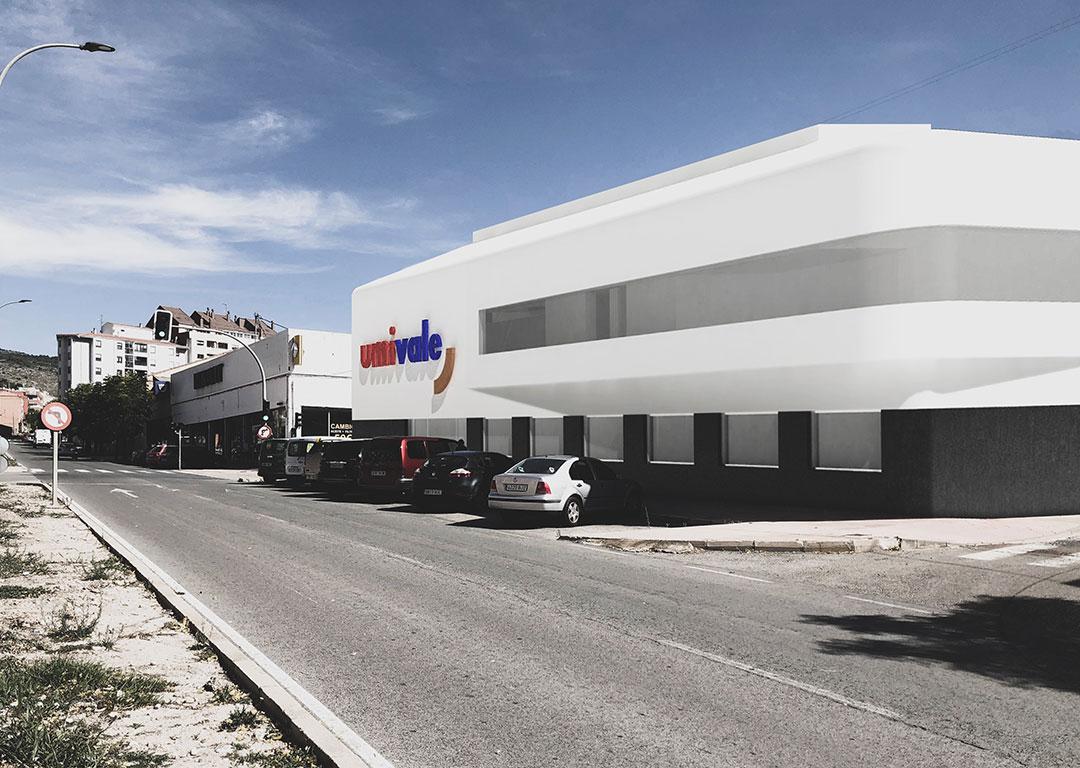 Infografía | Nuevo Centro Médico Asistencial UMIVALE IBI, Alicante