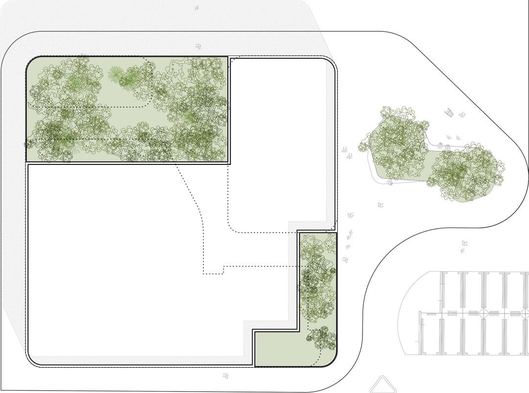 Cubiertas | Nuevo proyecto de edificio `Multiusos´ al Campus de Altea de la Universidad Miguel Hernandez de Elche, Alicante