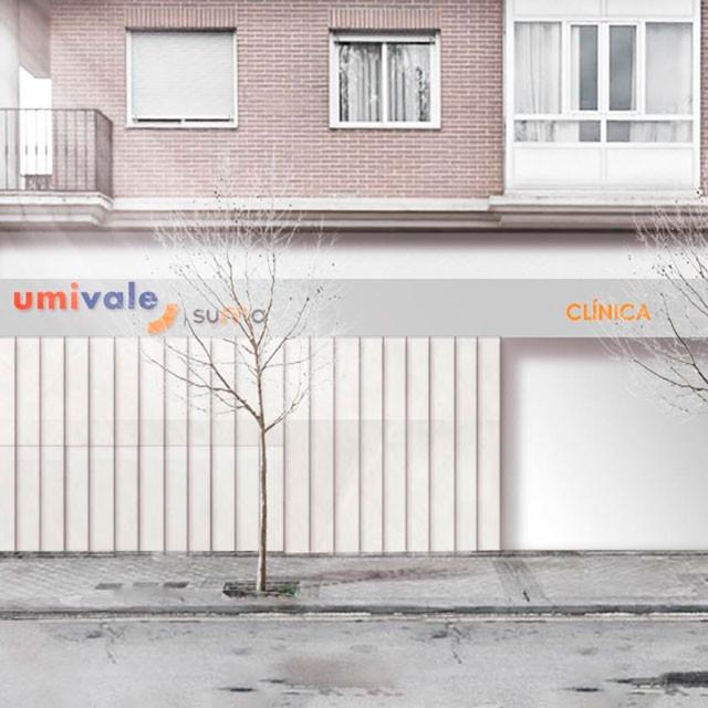 Propuesta ganadora para nueva clínica UMIVALE en Torrejón de Ardoz, Madrid